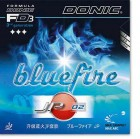 Donic Bluefire JP02        Control 7- Speed 10 Spin 10++ Hardness: Medium - Surface: Spin-Elast. NEW 2014