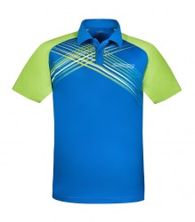 DONIC Polo-Shirt Riva blue-lime